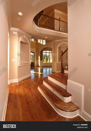 model luxury home interior hallway image photo bigstock model luxury home interior hallway with stairs