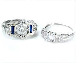 vintage diamond rings art deco vintage art deco engagement rings