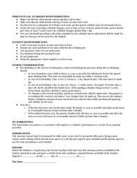 private tutoring contract template by coresenseforthecommonteacher
