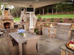 Outdoor Patio Grill Island Outdoor Patio Kitchen Ideas Home Design