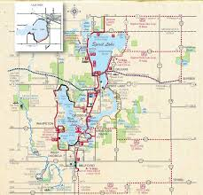 Iowa travel and tourism images Iowa great lakes trail iowa tourism map travel guide things to JPG