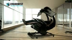 Emperor Computer Chair Ergoquest Ultimate Zero Gravity Workstation Youtube