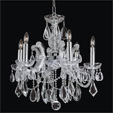 petite chandelier maria theresa smooth crystal chandelier maria theresa 561a