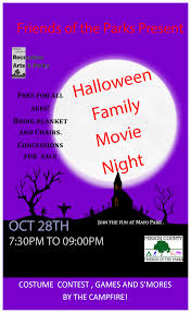 person county nc calendar halloween family fun movie night