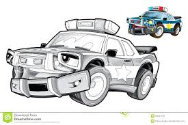 cars coloring pictures colouring pages real police car printable
