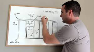 framing tips and terminology of a load bearing wall 1027 youtube