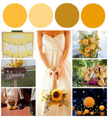 sunflower wedding ideas attractive wedding color inspiration sunflower wedding color