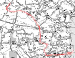 London Bus Map London Bus Route 187