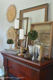Rustic Mantel Decor Anderson Grant Decorating Tips From My Summer Mantel Display