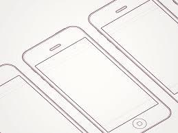 iphone 5 sketch sheet by daniel boros dribbble