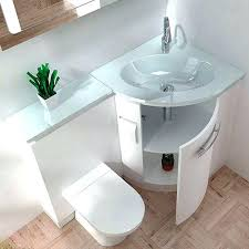 wall mount vessel sink vanity small bathroom glass wall mount vessel sink vanity combo set fannect