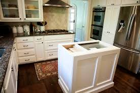 Kitchen Island Counters Walnut Kitchen Island Counters In West University Texas Handymen