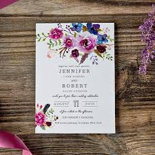 purple wedding invitations magenta shades of purple wedding invitations ewi423 as low