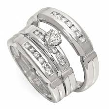 cheap wedding sets cheap gold wedding rings sets for him and weddingbandsin co