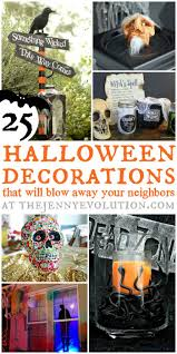 Diy Halloween Decor Diy Halloween Decorations Blow Your Neighbors Away