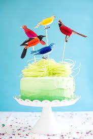 bird cake topper honeycomb bird cake toppers diy