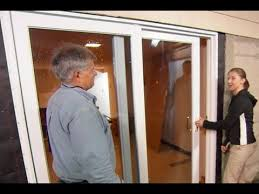 5 Foot Sliding Patio Doors How To Install A Sliding Glass Door This Old House Youtube