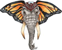 elephant butterfly by katunu on deviantart