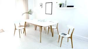 white mid century dining table mid century modern kitchen table and chairs white and wood kitchen