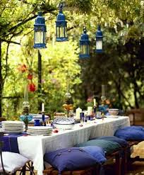 Patio Table Decor Outdoor Table Settings 1000 Ideas About Outdoor Table Settings On