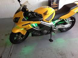 cbr bike green auto accessories auto styles
