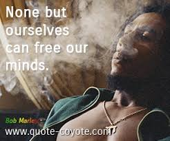 can marley bob marley none but ourselves can free our minds