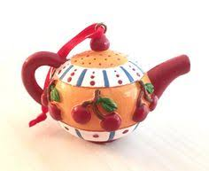 engelbreit teapot collectable coin bank 6 1 2 high