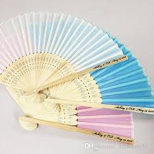 custom fans 2017 custom wedding souvenir wedding gift silk fans bamboo
