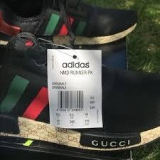 adidas x gucci adidas other nmd r1 boost x gucci by original poshmark