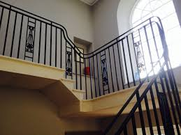 stair railing over wood iron rod covers play stair railing