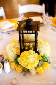 Lanterns With Flowers Centerpieces by Yellow Wedding Flowers Best Wedding Ideas Ideas For Yellow