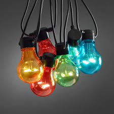 Colored Outdoor Light Bulbs Ideas Multi Coloured Outdoor Lights And Transparent Colored Light