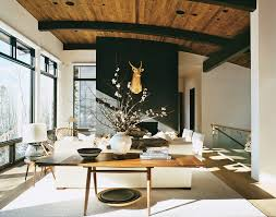 aerin lauder design diary aerin lauder u0027s aspen ski house stylecarrot