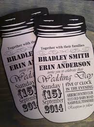 jar wedding invitations vintage style jar wedding invitations 2054151 weddbook