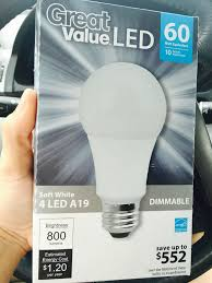 Walmart Led Light Bulbs by Time To Replace Every Bulb In Your House To Led Wal Mart Pricing