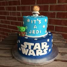 Star Wars Baby Shower Invitations - star wars baby shower cake toppers the best cake 2017