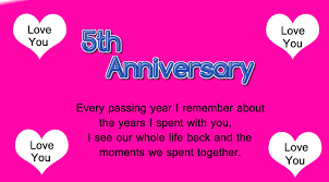wedding wishes to husband 5th wedding anniversary wishes for husband wishes4lover