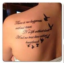 meaningful quotes on back bird for tatoos