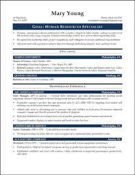 Strategy Resume Hr Resume Template Download Free Premium Templates Forms Download