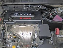 toyota camry 2007 engine toyota camry with 2 4l engine gets horsepower gain with k n
