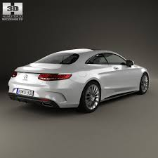 mercedes s 2014 mercedes s class coupe amg sports package 2014 3d model max