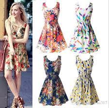 newest fashion women casual dress plus size cheap china dress 19