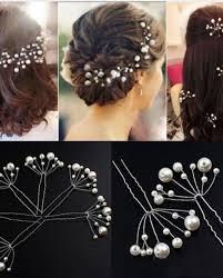 hair jewelry 5 x simulate pearl hairstyles wedding bridal hair jewelry hair