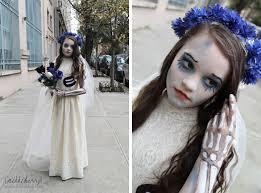 halloween zombie bride makeup corpse bride costume