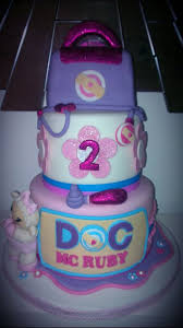 doc mcstuffin birthday cake three tiered doc mcstuffin lambie birthday cake cake by