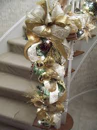 White Christmas Flower Decorations by