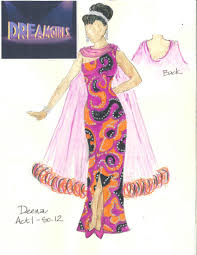 Dreamgirls Halloween Costumes Tuts Sneak Peek Costume Designs Dreamgirls Tuts
