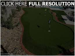 Backyard Putting Green Designs by Backyards Appealing 15 Diy Backyard Putting Green Kits Cool
