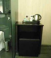 Coffee Maker Table There S A Tiny Table With A Coffee Maker At Z Soho Picture Of