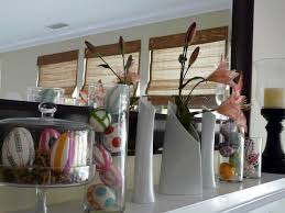 fabulous fireplace mantel for easter decoration complete